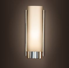 RH's Wall:At Restoration Hardware, you'll explore an exceptional world of high quality unique bath sconces. Browse our selection of bathroom sconce lights & more at Restoration Hardware. Bathroom Sconce Lighting, Basement Lighting, Bathroom Sconces, Vanity Lighting, Kitchen Lighting, Wall Sconces, Bathroom Ideas, Wall Lamps, Lake Bathroom
