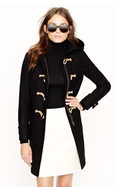 Toggle Coat in wool/cashmere- J.Crew