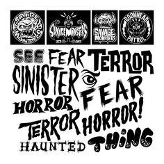 Horror Letters Font