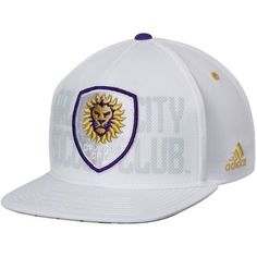 a0adfe29c1c Men s Orlando City SC adidas White Authentic Team Snapback Adjustable Hat  Your Price   25.99 Adidas