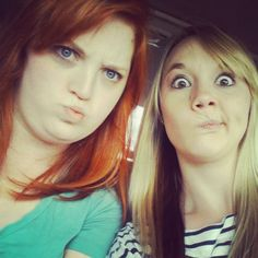 Best Friends can always count on each other to make a funny face when necessary! #Reality