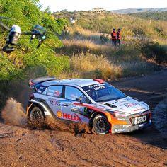 2016#WRC#Hyundai_World_Rally #team had an electrifying #race in 2016 WRC #Argentina #Rally !  #ThierryNeuville #DaniSordo #HaydenPaddon #i20 #world #motor #sport #VillaCarlosPaz #photooftheday #instadaily