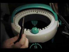 Fixing a suspected broken Innovations Knitting Machine! Fixing a suspected broken Innovations Knitting Machine! Addi Knitting Machine, Circular Knitting Machine, Loom Knitting Stitches, Knitting Socks, Knit Socks, Knitting Designs, Knitting Patterns, Circular Loom, Addi Express