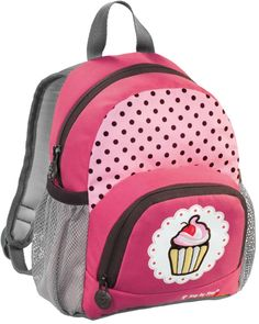 Rosa Step by Step Junior Kindergartenrucksack mit Cupcake!