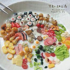 * おむすび🍙の投稿に沢山のいいね♥️頂きありがとうございます♩ * おむすびの次は食材色々☺︎ 大きさはミニチュアサイズから アクセサリーサイズとバラつきがあります。 * #ミニチュア#ミニチュアフード#ハンドメイド#手作り#雑貨#スマイル#粘土#フェイクフード#食品サンプル#おにぎり#おむすび #riceball#miniature#miniaturefood#japanesefood#smile#handmade#fake#fakefood#clay#craft #onigiri#食材#おかず