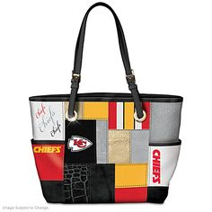 For The Love Of The Game Kansas City Chiefs Tote Bag