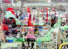 "Stéphane #Couturier - ""Melting Point Toyota n° 12"" - © Stéphane Couturier - courtesy l'artista e Galerie Polaris My Land, Point, Toyota, Concept, Sea, Image, Artists, Fotografia, Ocean"