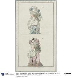 SMB-digital | Journal des Luxus und der Moden, Tafel 10, April 1793.