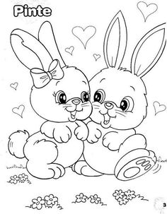 Easter - Coloring Pages - Easter – Coloring Pages - Easter Bunny Colouring, Easter Coloring Pages, Cute Coloring Pages, Disney Coloring Pages, Animal Coloring Pages, Printable Coloring Pages, Adult Coloring Pages, Coloring Pages For Kids, Coloring Sheets