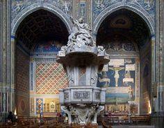 """un-monde-de-papier: """" La chaire de la cathédrale Saint-Cécile d'Albi (Tarn, France). Photo: cc https://commons.wikimedia.org/wiki/User:Eusebius http://creativecommons.org/licenses/by/3.0 """""""