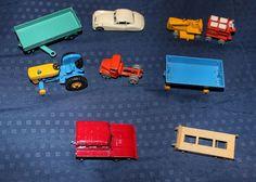 Lesney Trailor Car Tractor Milk Cart Lot of 9 vintage Matchbox #Lesney