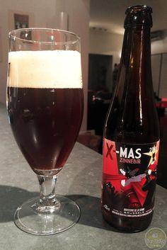 02-Dec-2015: X-Mas Zinnebir (2015) by Brasserie de la Senne. While I do like many of De la Senne's beers, this one is A bit too sweet for my taste. Still a decent bitterness underneath. #ottbeerdiary #ottadvent15