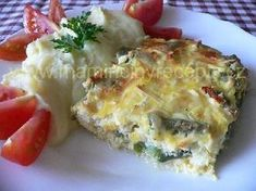 Lázeňské filé Quiche, Potato Salad, Mashed Potatoes, Food And Drink, Homemade, Breakfast, Ethnic Recipes, Whipped Potatoes, Home Made