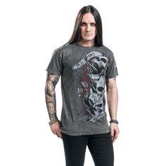 "Classica T-Shirt uomo ""Necrogenesis"" del brand #AlchemyEngland."