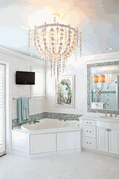 This bathroom is like a jewerly box  Fort Lauderdale VII