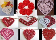 Tina's handicraft : 10 designs harts