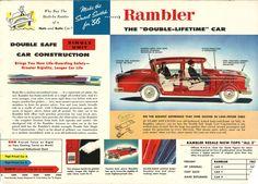 Make the Switch: 1956 AMC Rambler flyer   Hemmings Daily