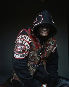Mongrel Mob - Gripping Photos of New Zealand's Largest Gang Will Make You Tremble | Bored Panda