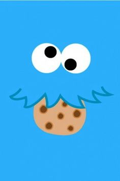 Cookie Monster wallpaper Denenecek Projeler Pinterest Cookie