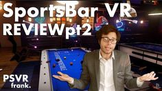 Since the Update SportsBar VR is like a new game [Video] #Playstation4 #PS4 #Sony #videogames #playstation #gamer #games #gaming