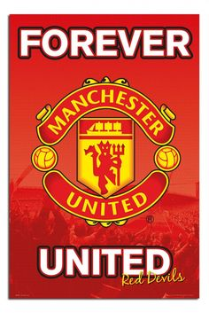Manchester United Forever Poster | iPosters