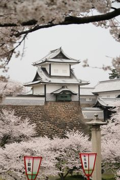 The Lord Edward - kvnai:    Kanazawa Castle. Japan by   richard evea