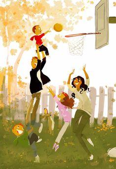 ¿Vamos a jugar a #baloncesto toda la #familia? #primavera #airelibre #play