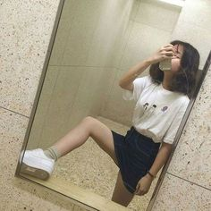 Image about girl in outfits by Korean Inspired
