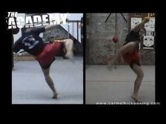 Muay Thai Roundhouse Kick - The Academy - Muay Thai Training