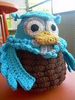 Ugglebeksrivning - Mina mönster - Mönster på virkat och stickat - Crochetra ~ free pattern