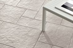 Clean and beautiful, #porcelain #tile that has the #natural finish of #stone.