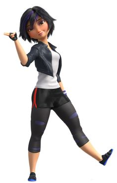 GoGo Tomago is my absolute favorite character in or any Disney movie for that matter. I ship her with Tadashi, even though that appears to be looked down upon in the fandom in favor of TadaHoney. Disney Big Hero 6, Cute Disney, Big Hero 6 Characters, Female Characters, Cosplay Characters, Baymax, Gogo Tomago Cosplay, Big Hero 6 Costume, Big Heroes