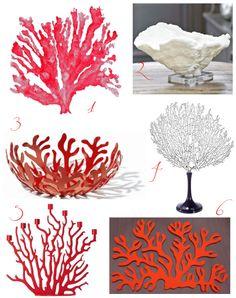 sea coral inspiration