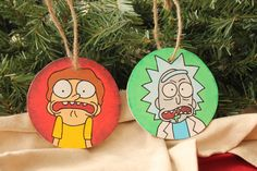 Hey, I found this really awesome Etsy listing at https://www.etsy.com/listing/210378438/handmade-rick-and-morty-christmas