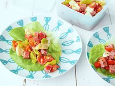 Antipasto Summer Lettuce Wraps recipe from Kelsey's Essentials via Food Network