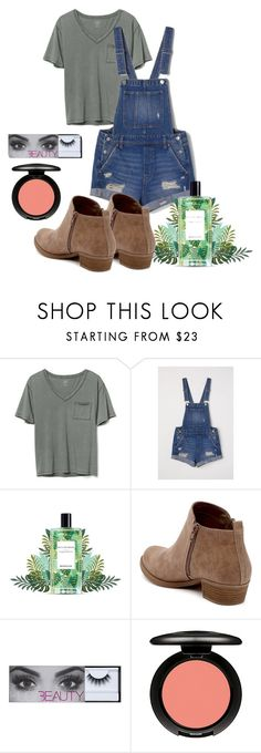 """Untitled #30"" by sydhobbs on Polyvore featuring Gap, Carlos by Carlos Santana and MAC Cosmetics"