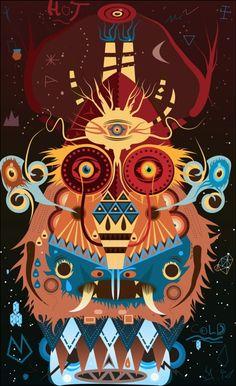 """CRAKTOTE"" - Ceri Westcott What Is Creativity, Al Image, Poster Prints, Posters, Bear Art, Manish, United Kingdom, Illustration Art, Tumblr"