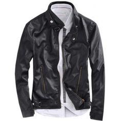 fotos jaquetas masculinas de couro Jaqueta De Couro Masculina 3768fa83c5079