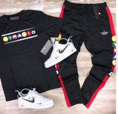 Dope Outfits For Guys, Swag Outfits Men, Stylish Mens Outfits, Nike Outfits, Teen Boy Fashion, Tomboy Fashion, Mens Fashion, Nike Clothes Mens, Nike Free Run