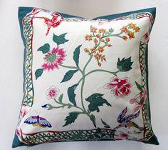 Vintage Jim Thompson Silk Cushion Cover. $25.00