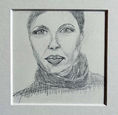 Bleistiftzeichnung Porträt