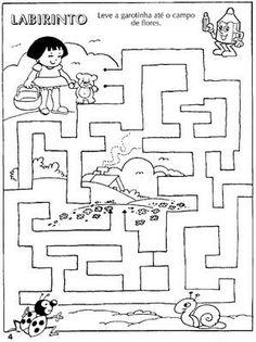 labirint Preschool Writing, Preschool Worksheets, Kindergarten Worksheets, Preschool Activities, Fine Motor, Kids Playing, Diagram, Toddlers, Internet