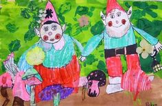 """From exhibit """"Garden Gnomes First Grade"""" by Robyn136"""