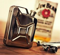 Utterly unique! Check out this Jerry Can hipflask. One of our many ideas for, 'Christmas Gifts for the Car Lover in Your Life'