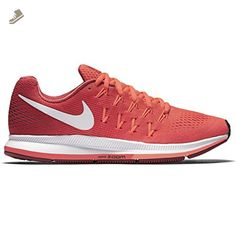 48363a1cf Nike Womens Air Zoom Pegasus 33 Running Shoe Bright Crimson/White/Gym Red/Bright  Mango 8.5 - Nike sneakers for women (*Amazon Partner-Link)