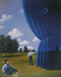 Poetico surrealismo de Rafal Olbinski -