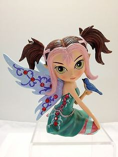 Serenity Shimmers  Fairy Jasmine Becket Griffith Reflections Bradford Figurine