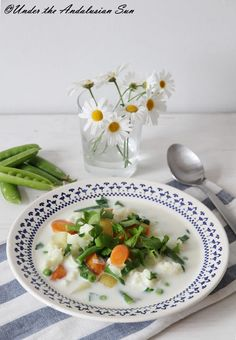 Summer soup - a Finnish tradition made with the bounty of the new harvest