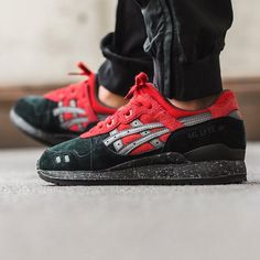 Asics Gel-Lyte III 'Black/Red' X-MAS Pack Release Saturday 14th November 2015 Instore & Online Berne | Zurich by titoloshop