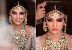 Rana Daggubati and Miheeka Bajaj's Wedding!! – South India Fashion Rana Daggubati, Wedding Jewelry For Bride, Indian Bridal Makeup, Celebrity Jewelry, South Indian Bride, Indian Wedding Outfits, Bride Makeup, India Fashion, Princess Cut Diamonds